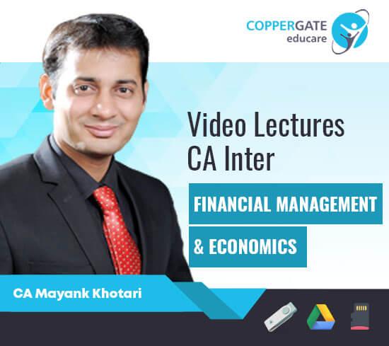 CA Inter Group 2 FM  by CA Mayank kothari [Regular]