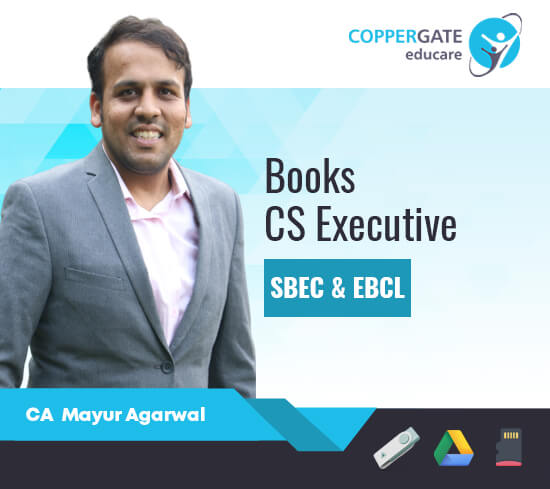 CS Executive SBEC & EBCL E-Books,Paperback by CA Mayur Agarwal [Book]