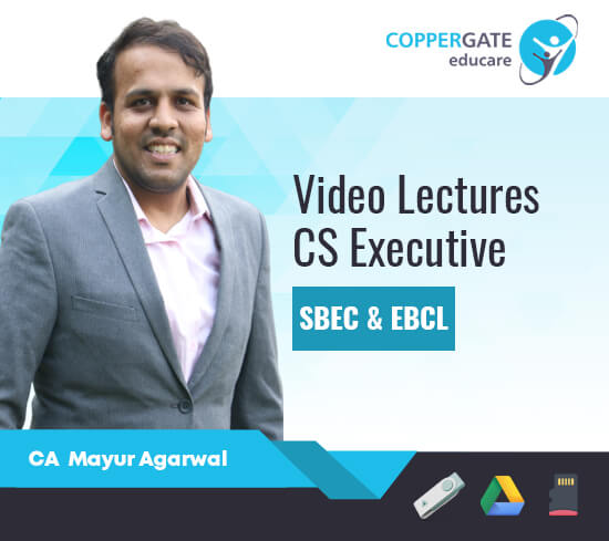 CS Executive SBEC, EBCL & Combo by CA Mayur Agarwal [Regular]