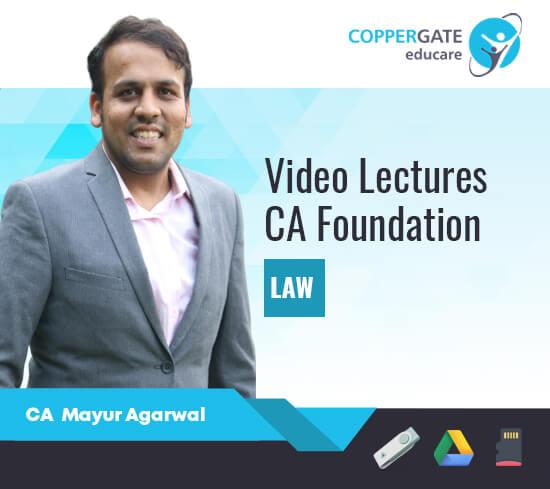 CA Foundation Only Law & Business Law by CA Mayur Agarwal [Regular]