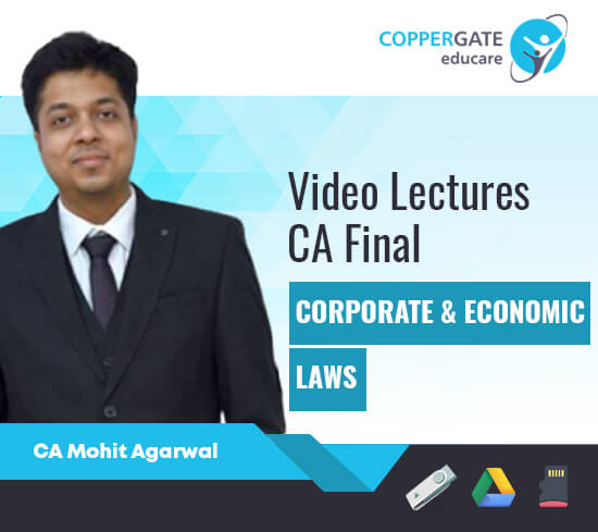 CA Final New Corporate & Economic Law by CA Mohit Agarwal [Full Course]