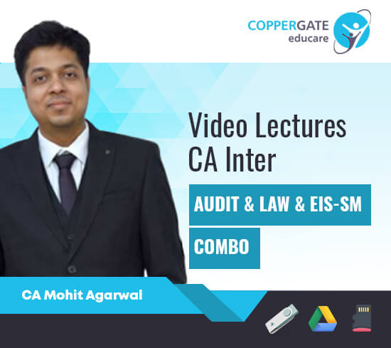 CA Inter Audit,Law,EIS-SM,Combos by CA Mohit Agarwal [Full Course]
