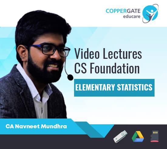 CS Foundation Elementary Statistics by CA Navneet Mundhra
