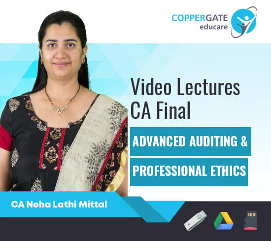 CA Final New/Old Advanced Auditing by CA Neha Lathi Mittal [Topicwise ]
