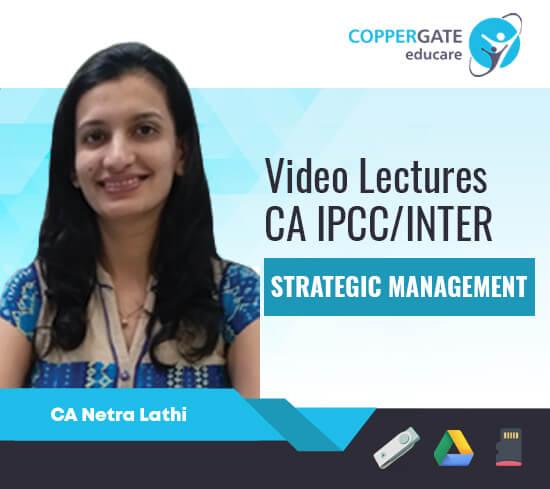 CA Inter/IPCC Group 2 Strategic Management by CA Netra Mittal [Regular]
