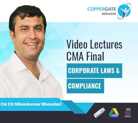 CMA Final Corporate Laws & Compliance by CA CS Nilamkumar Bhandari [Full Course]