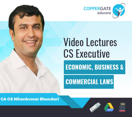 CS Executive Economic, Business & Commercial Laws by CA CS Nilamkumar Bhandari [Full Course/ Fast Track Course]