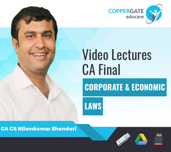 CA Final New Corporate & Economic Laws by CA CS Nilamkumar Bhandari [Full Course]