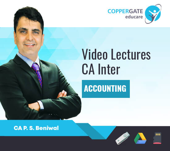 CA Inter Group 1 Accounting by CA P. S. Beniwal [Full Course]