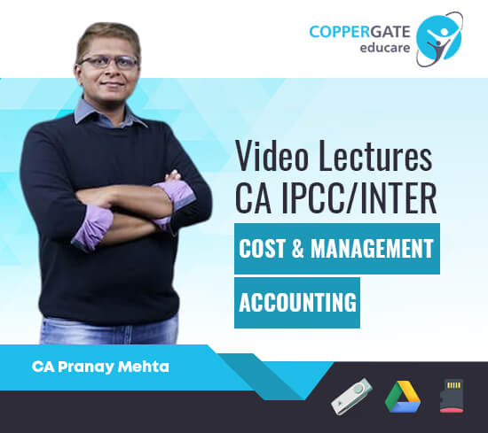 CA Inter/IPCC Cost & Management Accounting by CA Pranay Mheta [Regular]