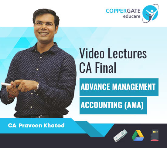 CA Final Old Syllabus AMA (COST/QT/OR) by CA Praveen Khatod [Regular/FastTrack]