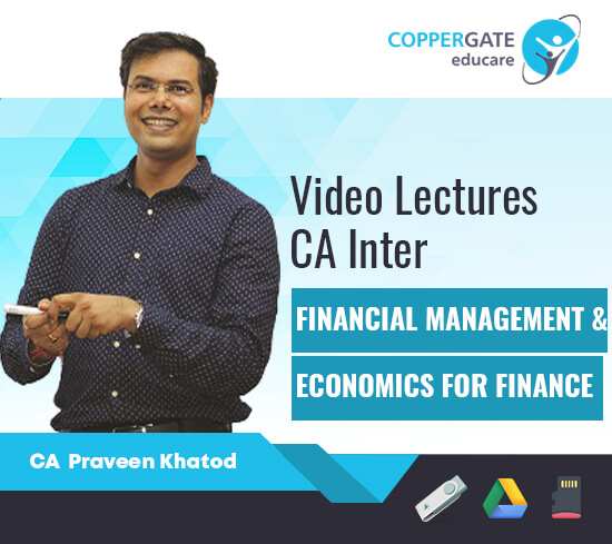 CA Inter FM & Economics by CA Praveen Khatod [Full Course]