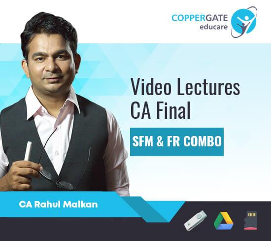 CA Final New Syllabus SFM & FR Combo by CA Rahul Malkan [Full Course]