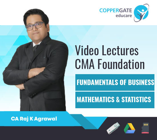 CMA Foundation Fundamentals of Business Mathematics & Statistics by CA Raj K Agrawal [Full Course]