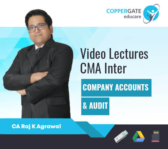 CMA Inter Company Accounts & Audit by CA Raj K Agrawal [Full Course]