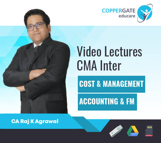 CMA Inter Cost & Management Accounting & Financial Management by CA Raj K Agrawal [Full Course]