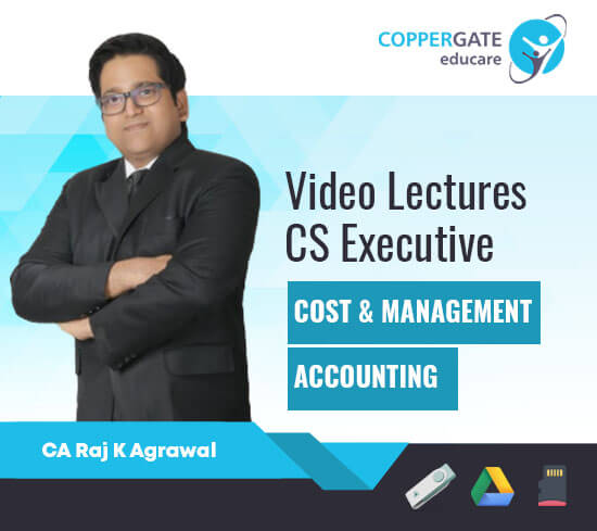 CS Executive Old Cost & Management Accounting (MCQ Based) by CA Raj K Agrawal