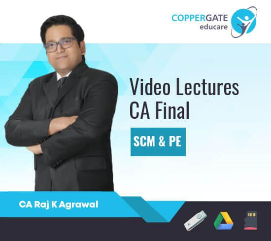 CA Final Strategic Cost Management & Performance Evaluation by CA Raj K. Agarwal [Regular]
