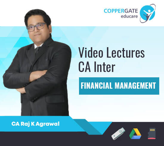 CA Inter Financial Management by CA Raj K. Agarwal [Regular]