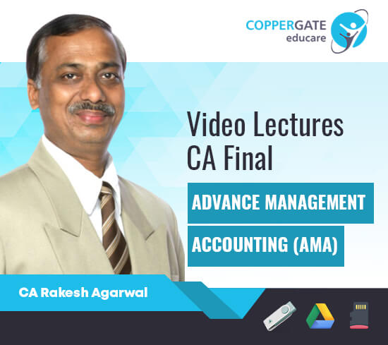 CA Final AMA(Costing + QT) by CA Rakesh Agrawal [Regular/Revision]