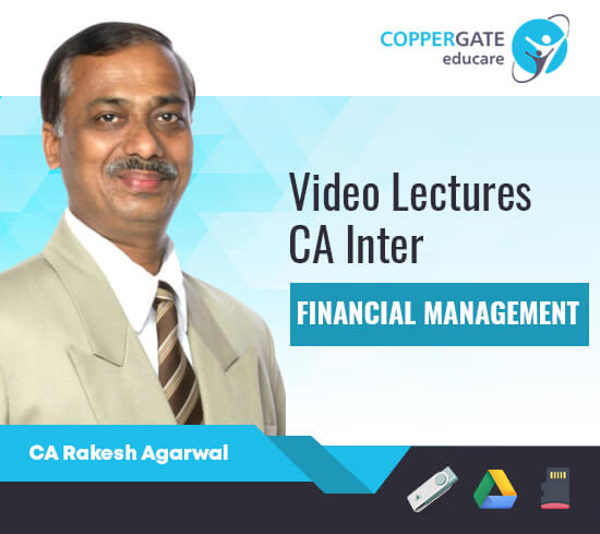 CA Inter Financial Management by CA Rakesh Agrawal [Regular]
