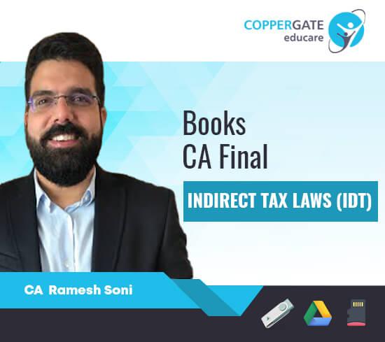 CA Final New/Old Syllabus IDT by CA Ramesh Soni [Books]