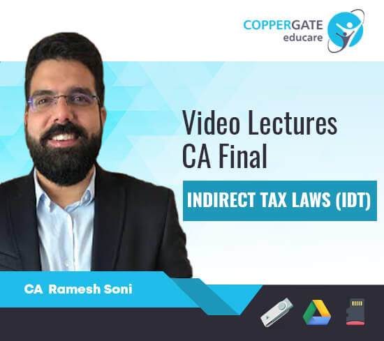 CA Final New/Old Syllabus IDT by CA Ramesh Soni [Full Course/FastTrack]
