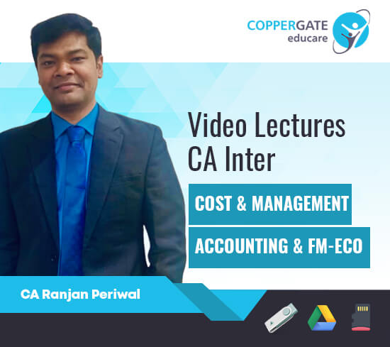 CA Inter Cost & Management Accounting, FM & ECO by CA Ranjan Periwal [Full Course]