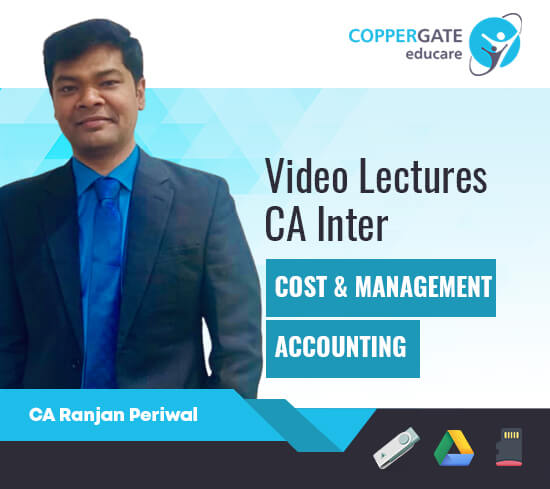 CA Inter Cost & Management Accounting by CA Ranjan Periwal [Full Course]