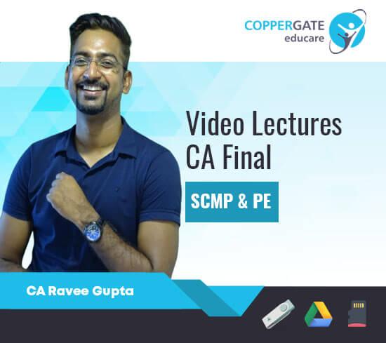 CA Final New SCM & PE by CA Ravee Gupta [Regular/FastTrack/Question bank]
