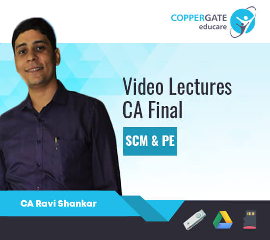 CA Final SCM & PE by Ravi Shankar [Full Course/Fast Track Course]