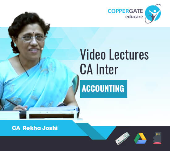 CA Inter Group I Accounting by CA Rekha Joshi [Regular Course]