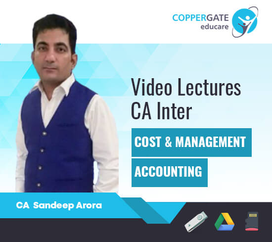 CA Inter Cost & Management Accounting(Paper -3) by CA Sandeep Arora [Full Course]