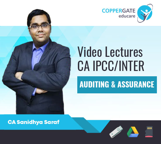 CA Inter Audit & Assurance by CA Sanidhya Saraf [Regular Course]