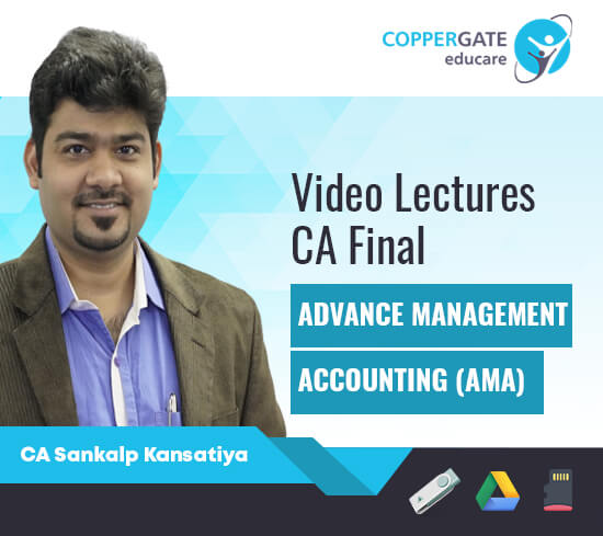 CA Final AMA (Costing & OR ) by CA Sankalp Kansatiya [Regular]