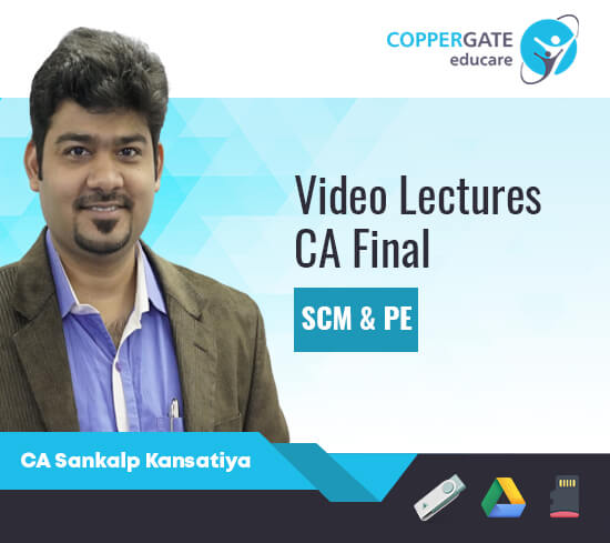 CA Final SCMPE by CA Sankalp Kansatiya [Full Course/Fast Track]