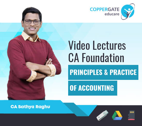 CA Foundation Principles & Practice of Accounting by CA Sathya Raghu [Regular]