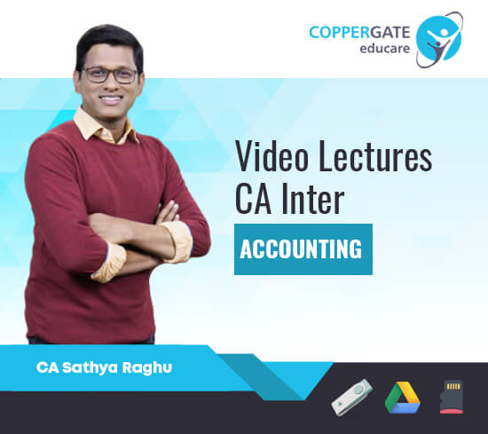 CA Inter Group 1 Accounting by CA Sathya Raghu [Regular]