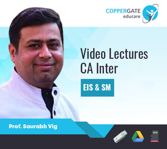 CA Inter EIS & SM,Only EIS,Only SM by Saurabh Vig(MCA) [Full Course]