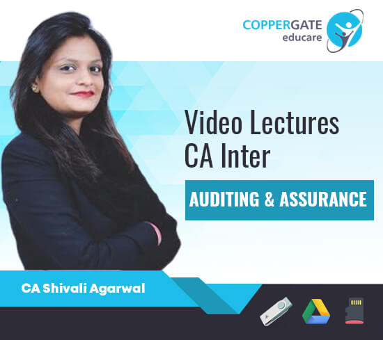 CA Inter Auditing & Assurance by CA Shivali Agarwal [Full Course]