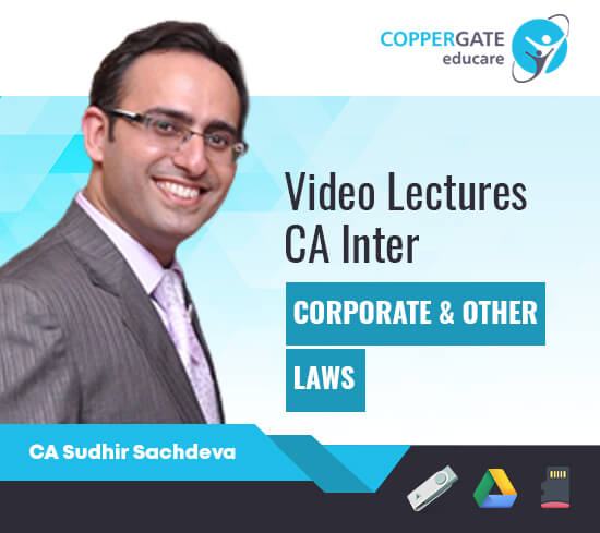 CA Inter Corporate & Other Laws by CA Sudhir Sachdeva [Regular]