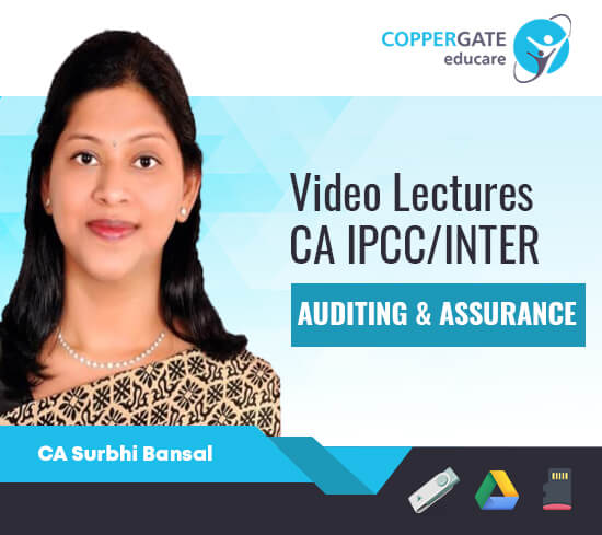 CA Inter/IPCC Auditing & Assurance By CA Surbhi Bansal [Regular Course]