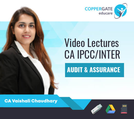 CA Inter/IPCC Audit & Assurance by CA Vaishali Chaudhary [Full Course]