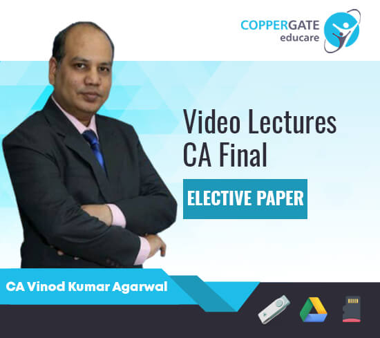 CA Final New FSCM/GFRS/Risk Management by CA Vinod Kumar Agarwal [Regular]