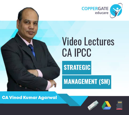 CA IPCC Strategic Management by CA Vinod Kumar Agarwal [Regular]