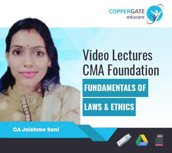 CMA Foundation Fundamentals of Laws & Ethics by CA CA Jaishree Soni [Full Course]