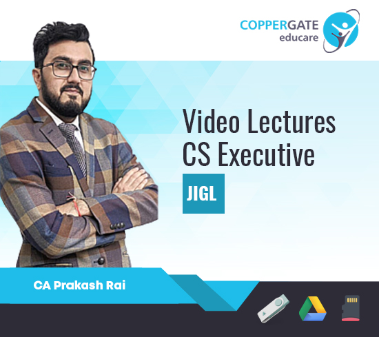 CS Executive (New Syllabus) Jurisprudence,Interpretation & General Laws by CA Prakash Rai [Full Course]