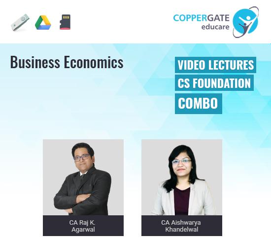 CS Foundation Business Economics by CA Raj K Agrawal & CA Aishwarya Khandelwal