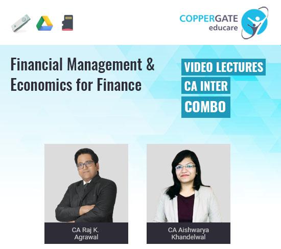 CA Inter Financial Management & Economics for Finance by CA Raj K Agrawal & CA Aishwarya Khandelwal