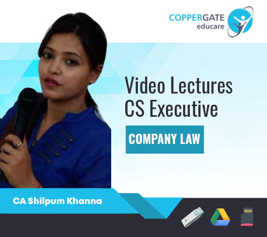 CS Executive Company Law by CA Shilpum Khanna [Full Course]